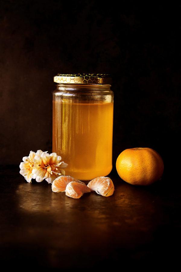 pot de miel de lavande